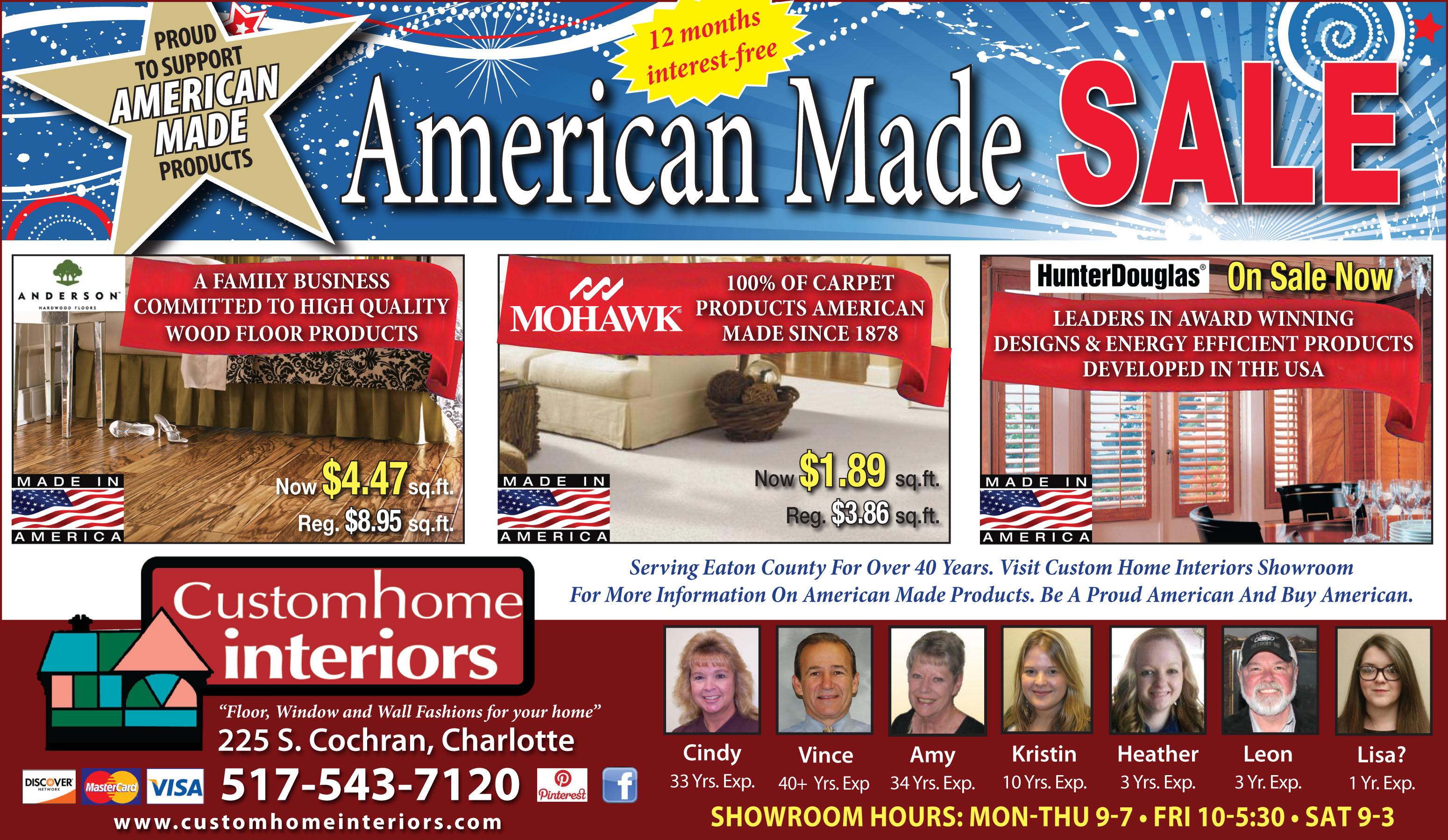 Special Custom Home Interiors