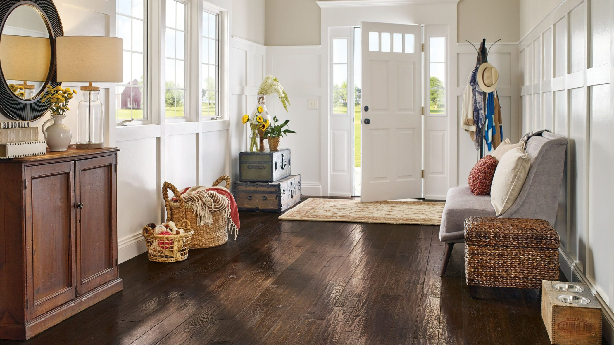 Hardwood Flooring Custom Home Interiors