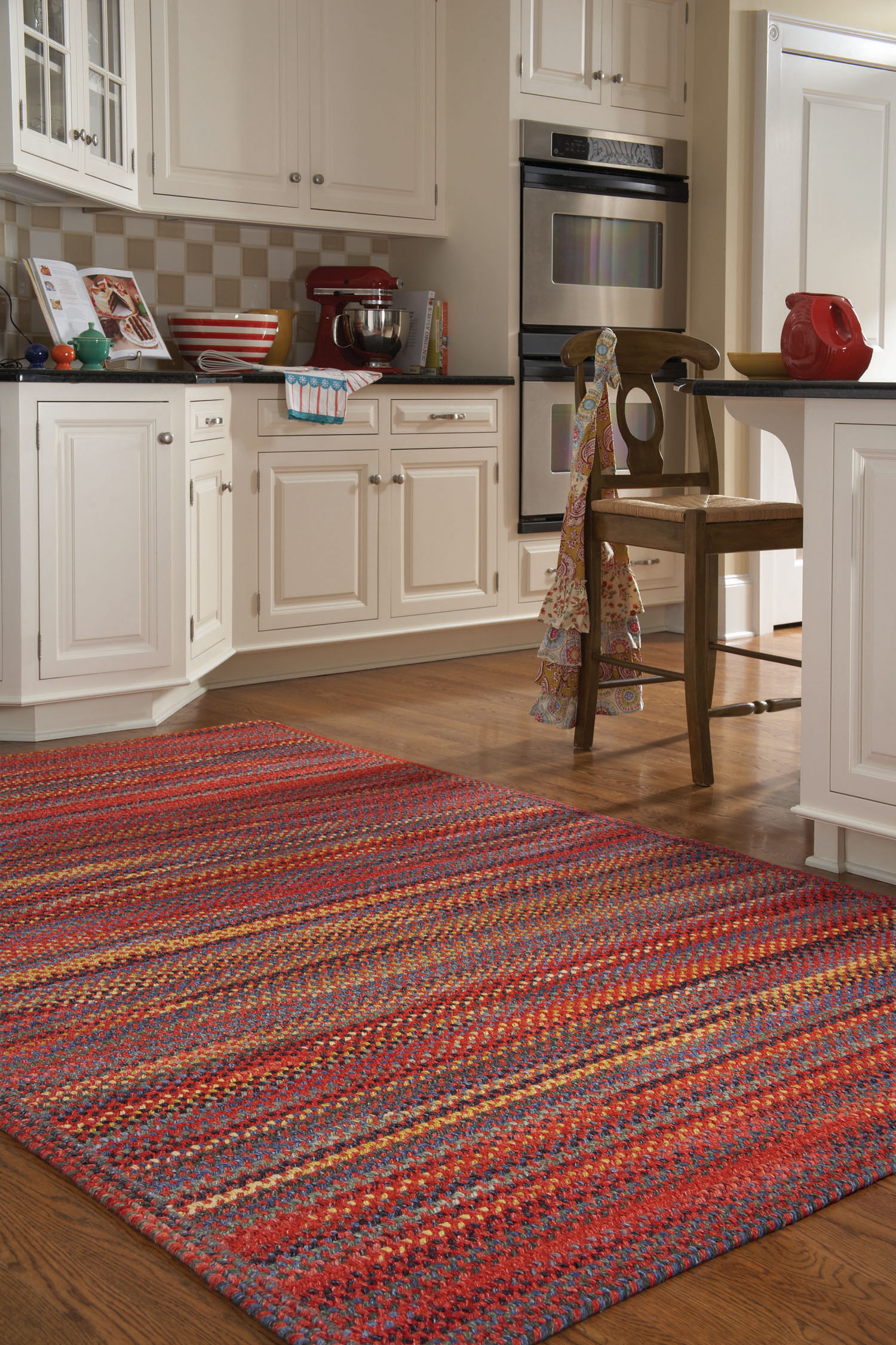 red rugs for kitchen