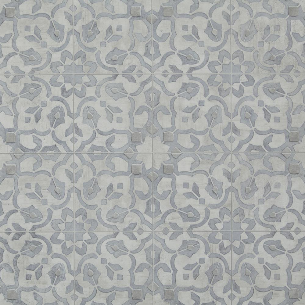 Mannington sheet vinyl and luxury sheet vinyl in filigree for Patterned vinyl flooring