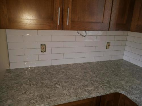 "Handcrafted Subway Tiles in Blanca 3"" x 12"""
