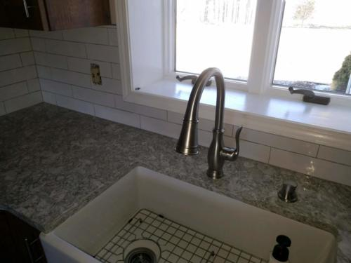 Handcrafted Subway Tile Installed